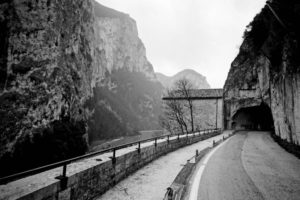 Via Flaminia: Vespanianus' tunnel (Furlo, 2010)