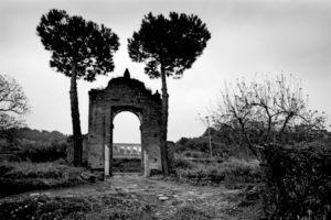 Via Appia: Fantasy-style scenery (Ariccia, 2010)